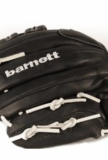 barnett GL-130 Soutěžní kožená baseballová rukavice, outfield 13'', černá