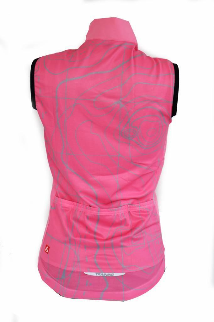 barnett Cyklistické oblečení - Vesta bez rukávů, růžová