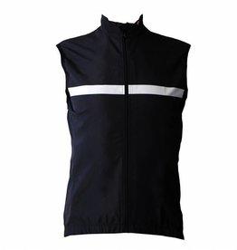 barnett Cyklistické oblečení - Vesta bez rukávů, černo-bílá