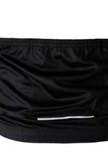 barnett Cyklistický dres - dlouhý rukáv, černo-bílý