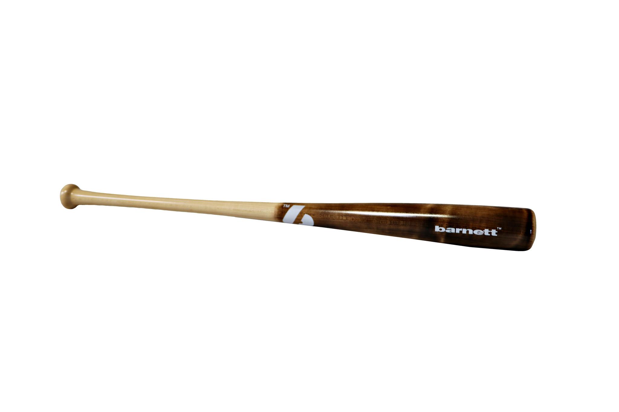 barnett BB-12 dřevěná baseballová pálka hnědá