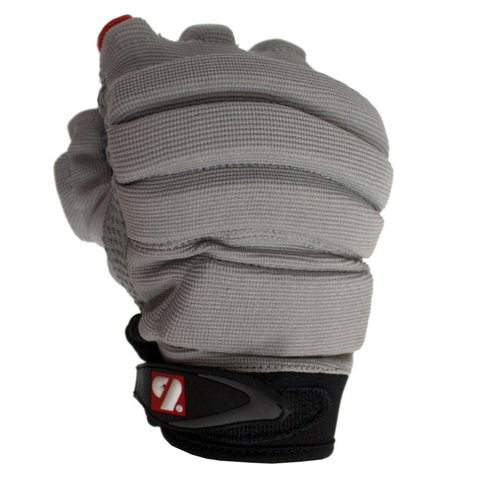 barnett FLGC-02 Rukavice na americký fotbal, nová generace, lineman, krátké, OL,DL, šedá