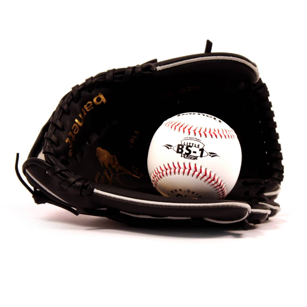 barnett GBJL-5 Baseballová sada, rukavice a míč, youth  (JL-95, BS-1)