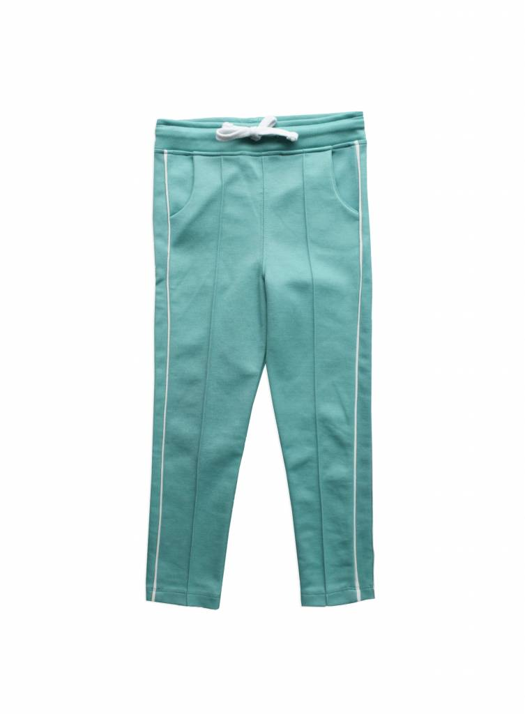 Track pants pool green