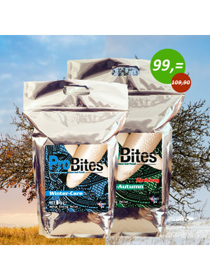 ProBites Winter Care 3 KG + ProBites Spring Autumn Sinking 5 KG