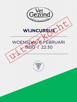 Wijncursus Leiden 6 februari