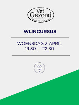 Wijncursus Leiden 3 april