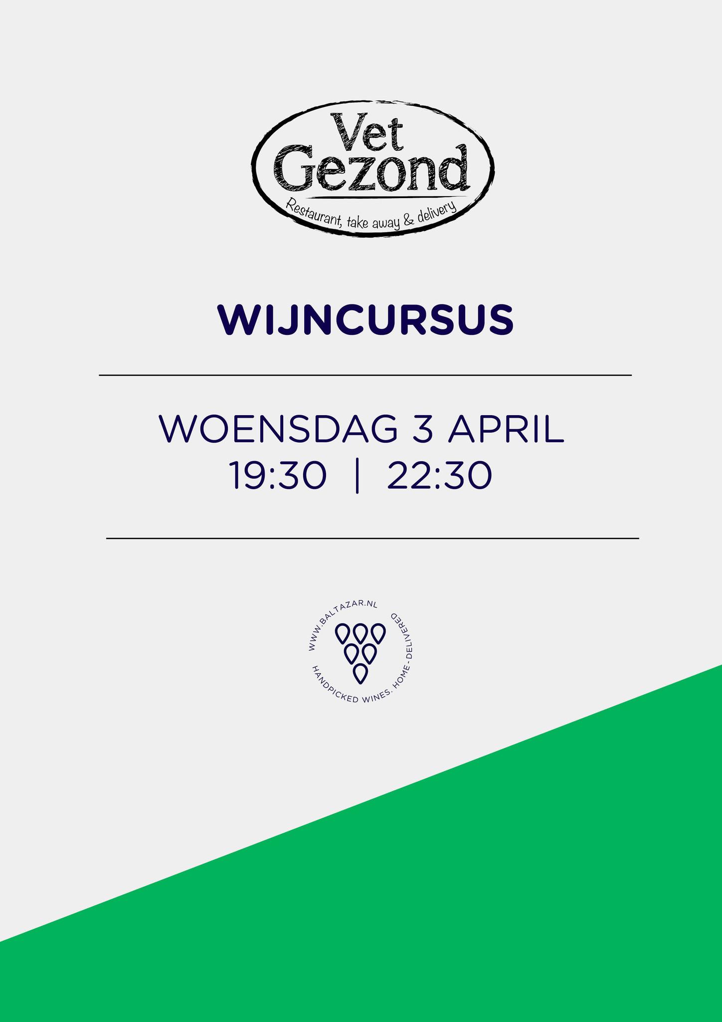Wijncursus Leiden 3 april