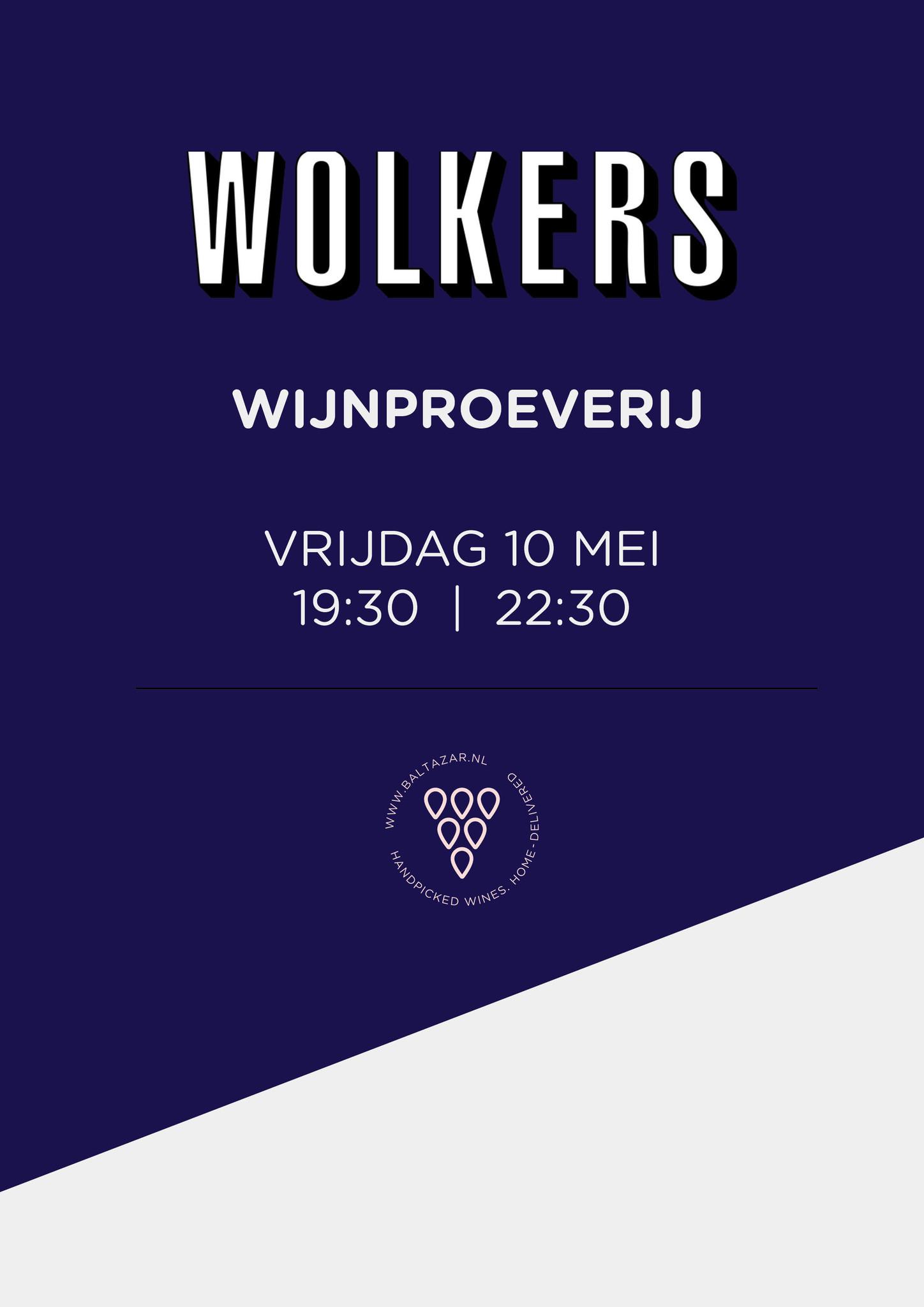 Wijnproeverij 10 mei Wolkers Haarlem