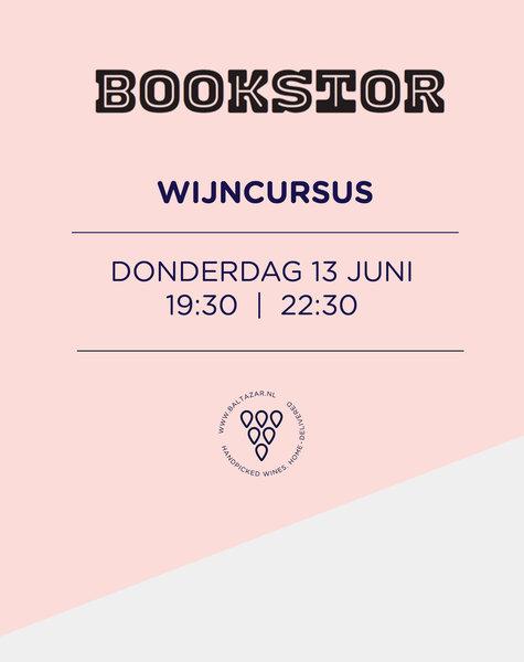 Wijncursus 13 juni  Bookstor Den Haag