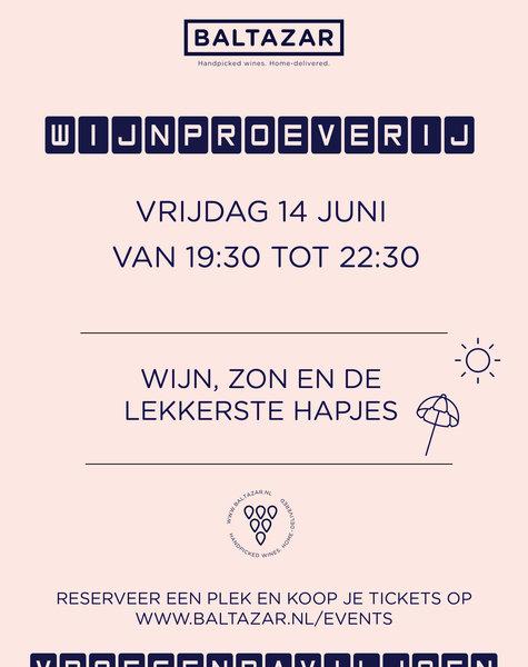 Wijnproeverij 14 juni Vroesenpaviljoen Rotterdam