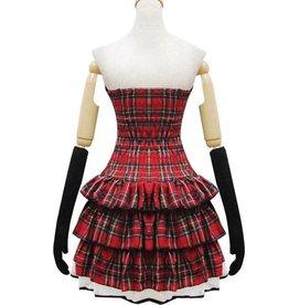 Rode Lolita jurk
