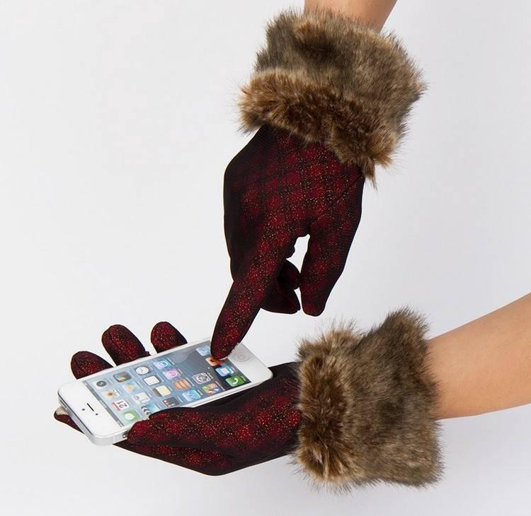 Dames touchhandschoenen