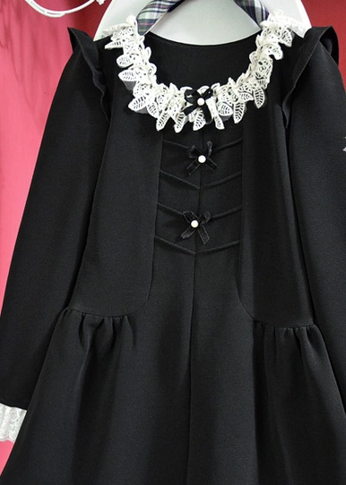 Lolita zwarte jurk