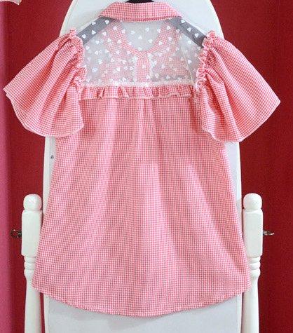 Lolita roze blouse