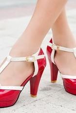 Lolita rode hoge hak schoen