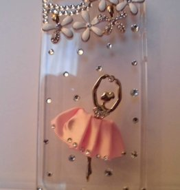 Ballerina iphone 5 kristallen case