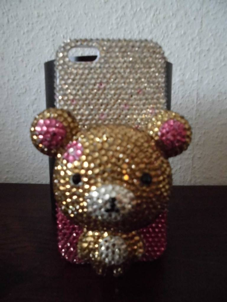 Iphone 5 Schattige teddybeer case