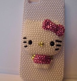 Schattige iphone 5 hello kitty case