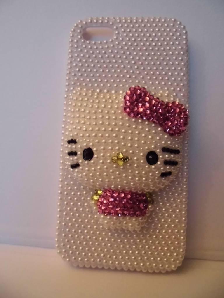 Schattige iphone 5 hello kitty case
