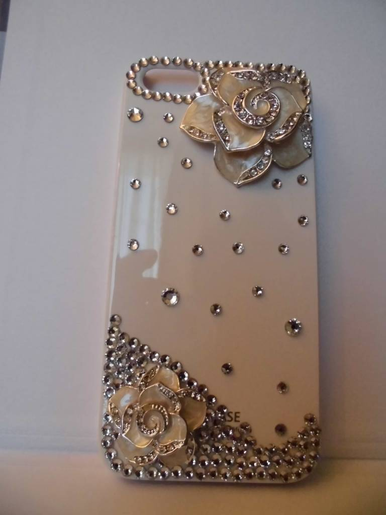 Iphone 5 Crystal Roses case