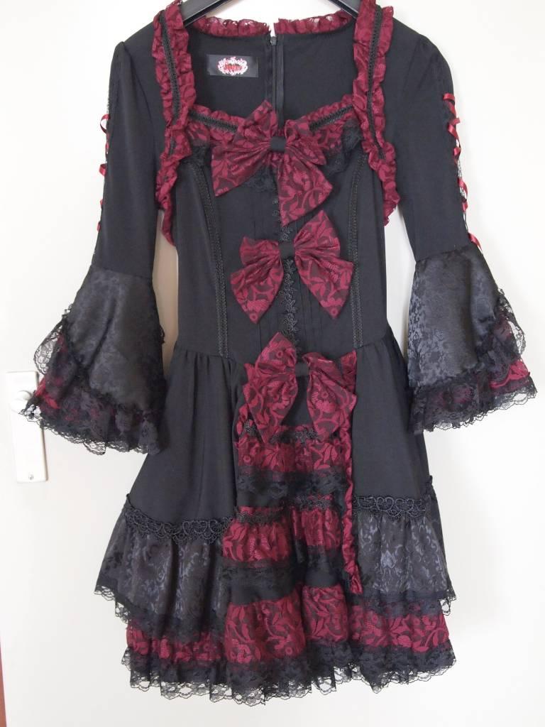 Lolita bordeau jurk