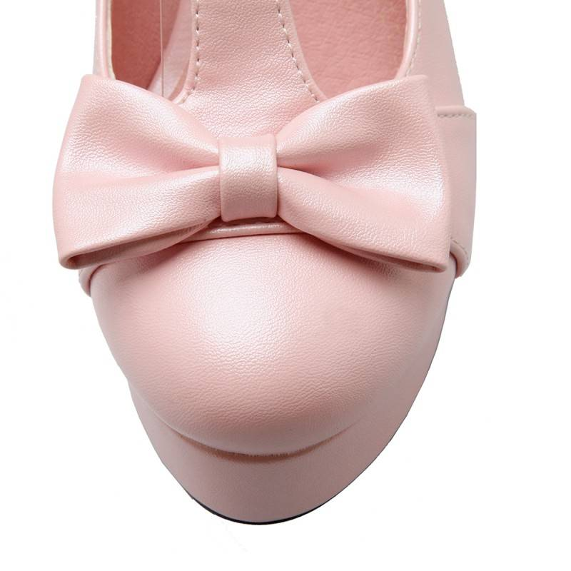 Lolita roze schoen