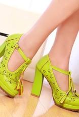Lolita schoen Groen