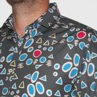 Overhemd Shuffled Geo