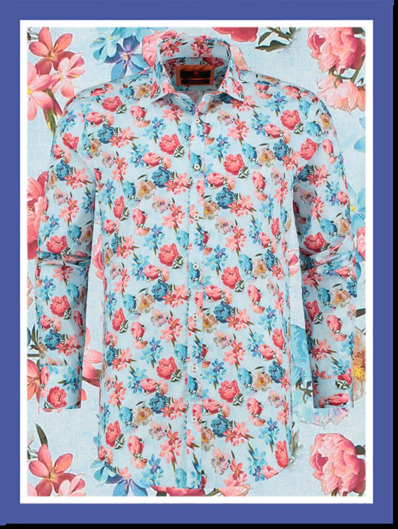 Overhemd Piony