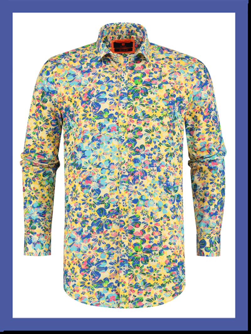 Overhemd Posy Flowers