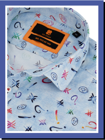 Overhemd Tagging