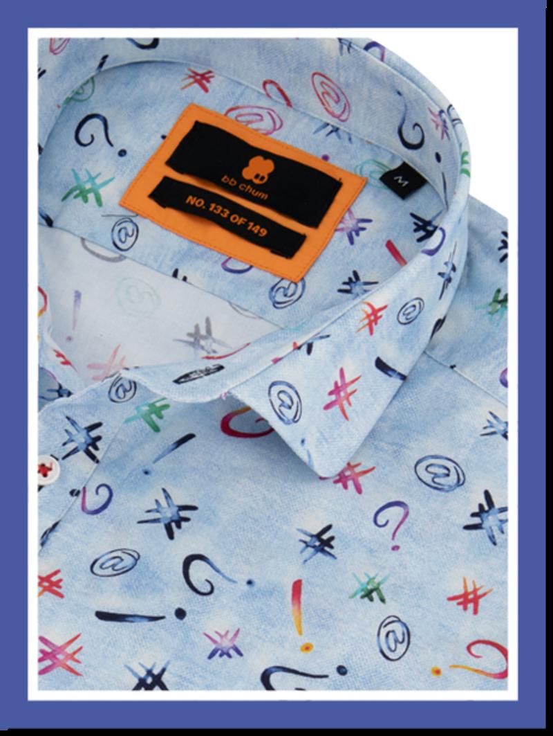 Overhemd Tagging km