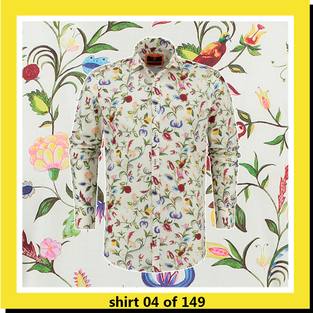 bb chum overhemd met bloemen Classy Flowers