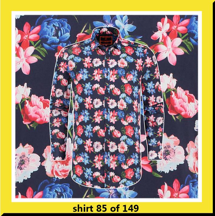 bb chum overhemd met bloemen print flourishing