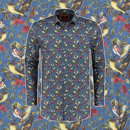 Print overhemden