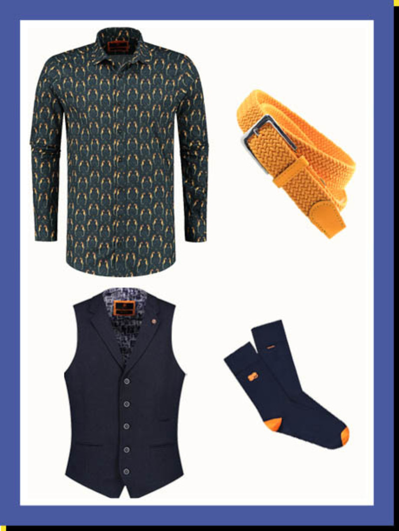 Overhemd Seahorse Span