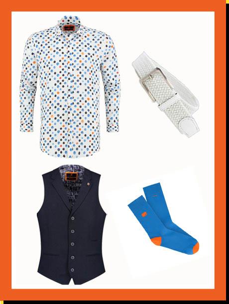 bb chum kleurrijke overhemden en accessoires