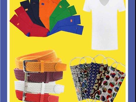 Kleine kleurrijke cadeaus voor mannen