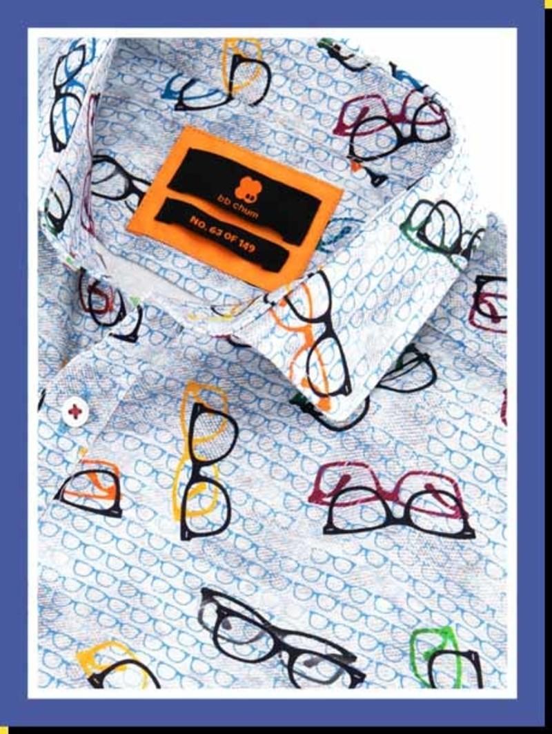 Overhemd Comic Specs