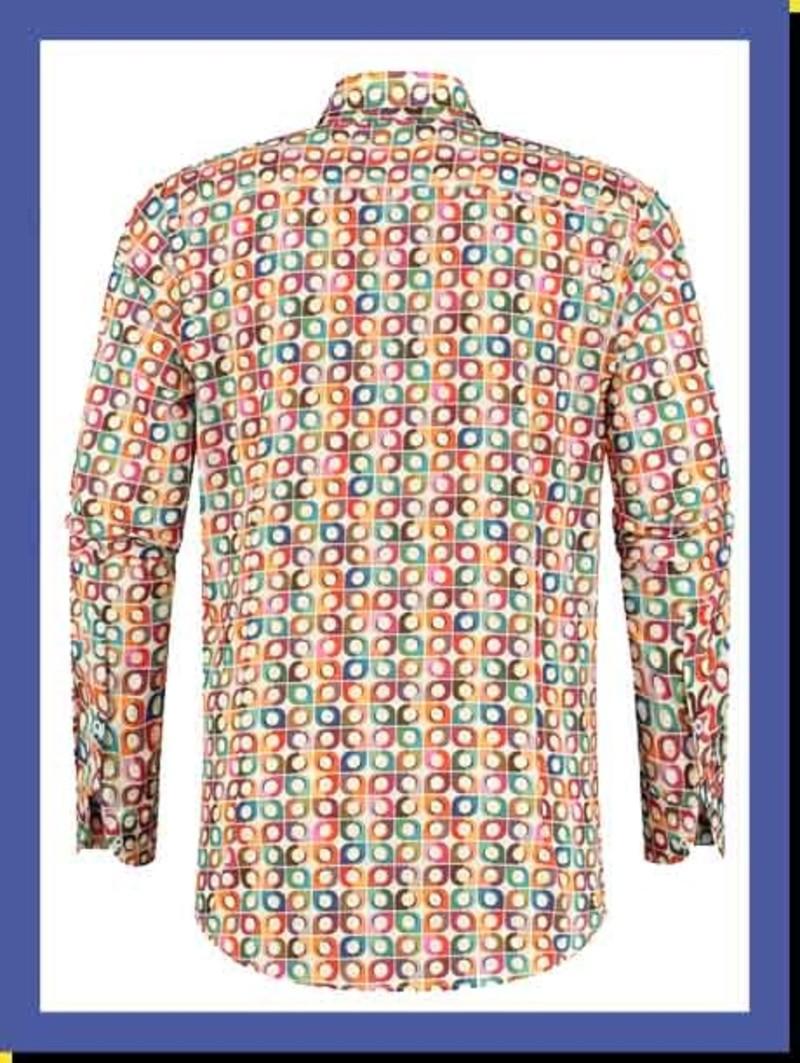 Overhemd Retro Tiles
