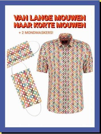 Overhemd Retro Tiles km