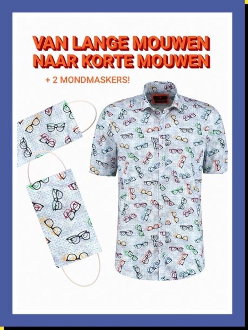 Overhemd Comic Specs km
