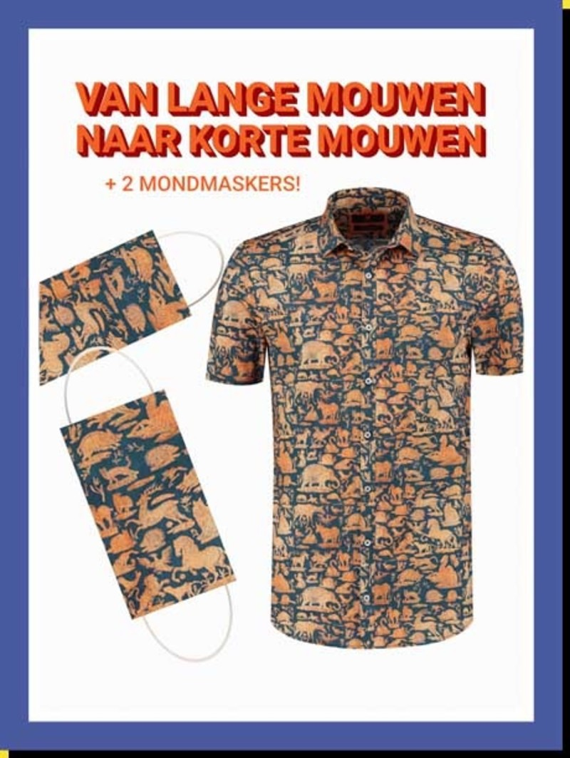 Overhemd Glorious Animals km