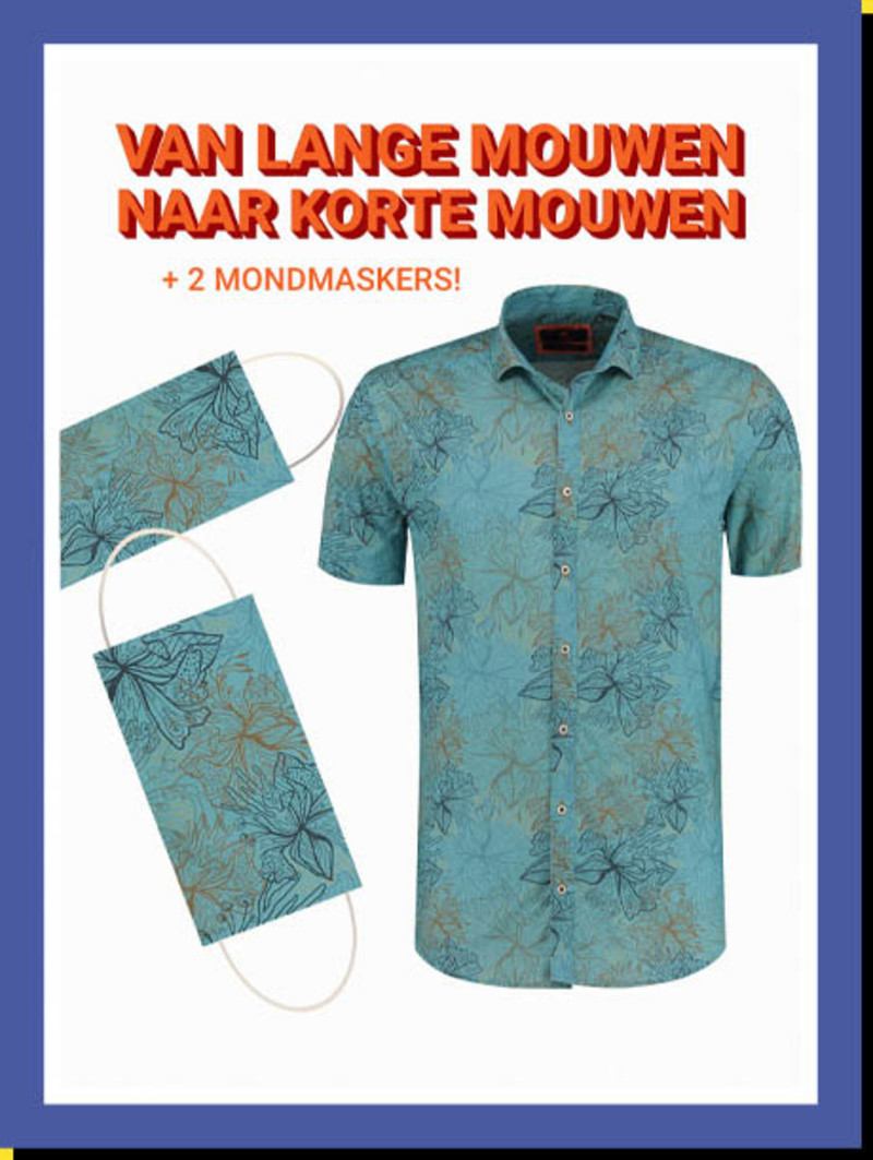 Overhemd Chill Elixer km