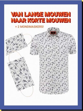 Overhemd Chai Fish km
