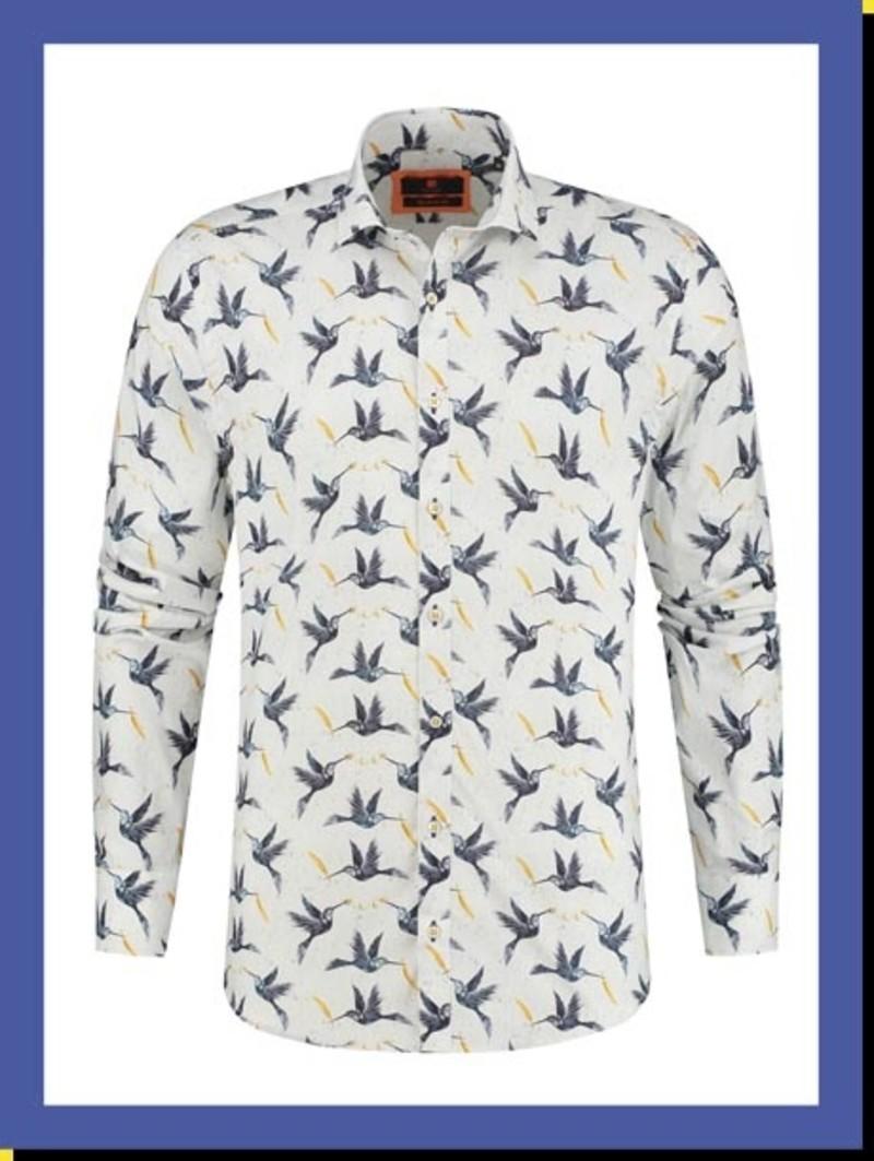 Overhemd Blue Birds km
