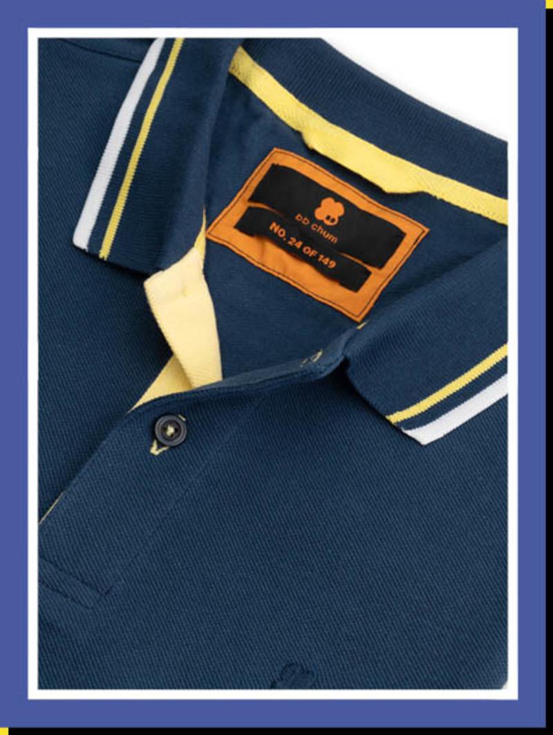 Poloshirt Dazzling Blue