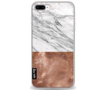 Marble Copper - Apple iPhone 8 Plus