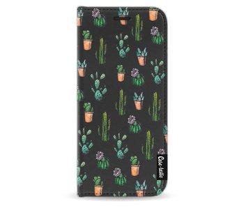 Cactus Dream - Wallet Case Black Samsung Galaxy S9